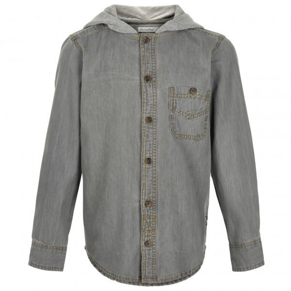 Minymo - Kid's Hooded Shirt L/S - Skjorta