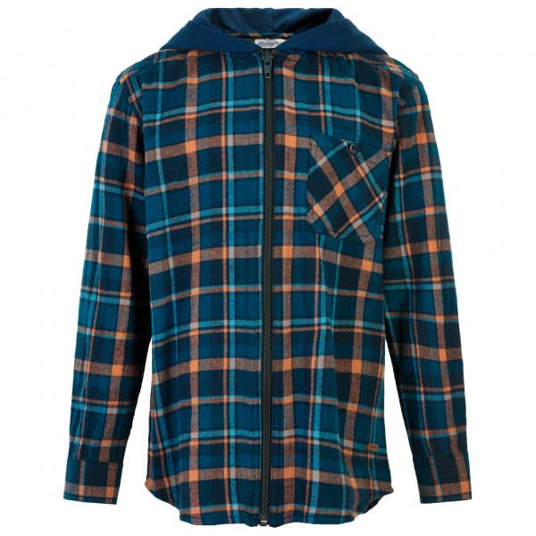 Minymo - Kid's Shirt L/S Check - Hoodie