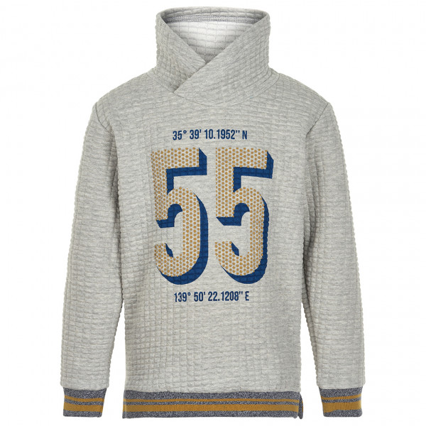 Minymo - Kid's Sweatshirt 55 L/S with Quilt - Gensere