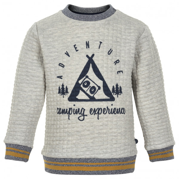 Minymo - Kid's Sweatshirt Camping L/S with Quilt - Trui