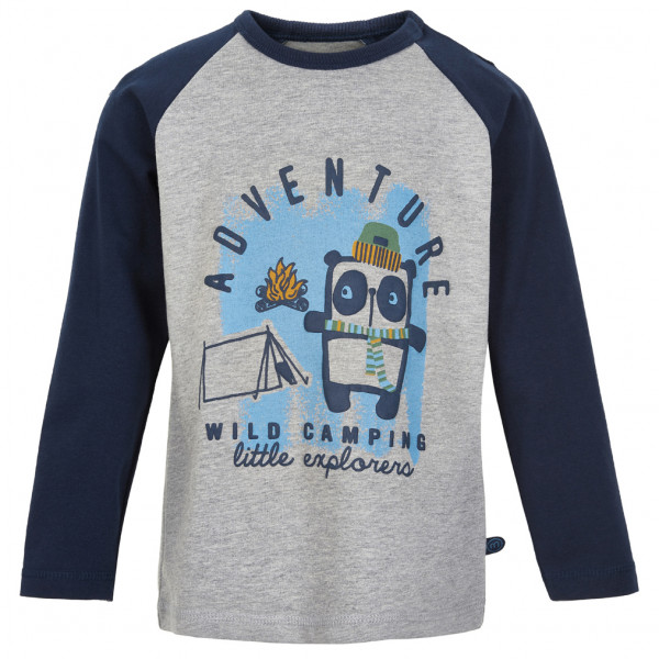 Minymo - Kid's T-Shirt Adventure L/S with Print - Longsleeve