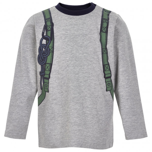 Minymo - Kid's T-Shirt Backpack L/S with Print - Longsleeve