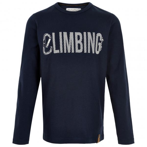 Minymo - Kid's T-Shirt Climbing L/S with Print - Longsleeve