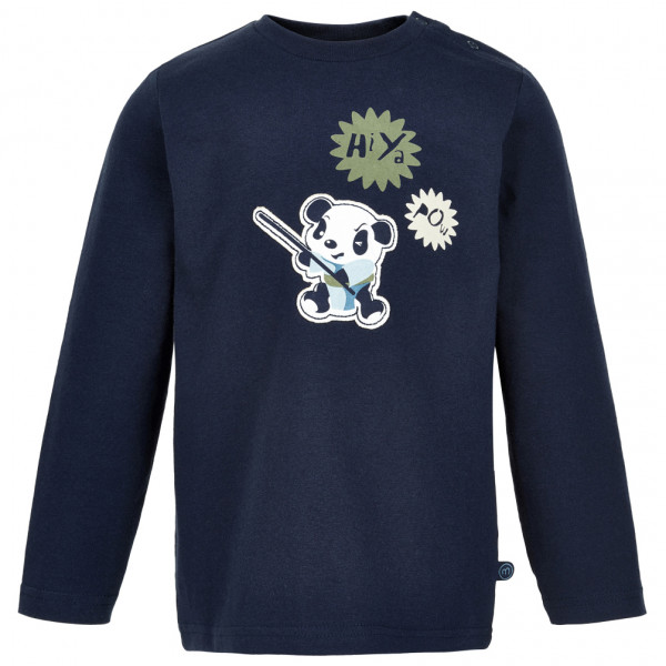 Minymo - Kid's T-Shirt Hiya L/S with Print - Longsleeve