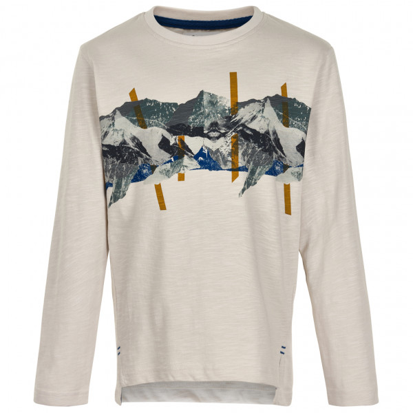 Minymo - Kid's T-Shirt Mountain L/S with Print - Longsleeve