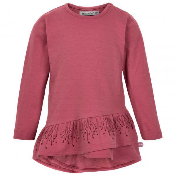 Minymo - Kid's Tunic L/S with Structure - Longsleeve