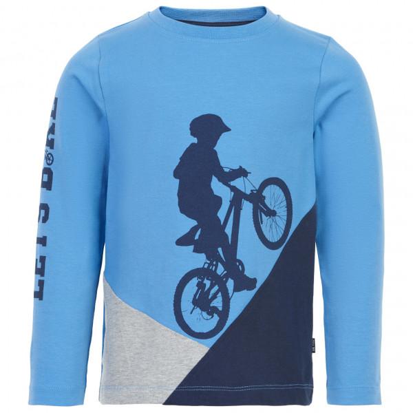 ME TOO - Kid's T-Shirt L/S Bike Uphill - Longsleeve