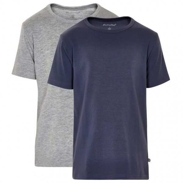 Minymo - Kid's Basic 32 -T-Shirt S/S (2-Pack) - T-Shirt