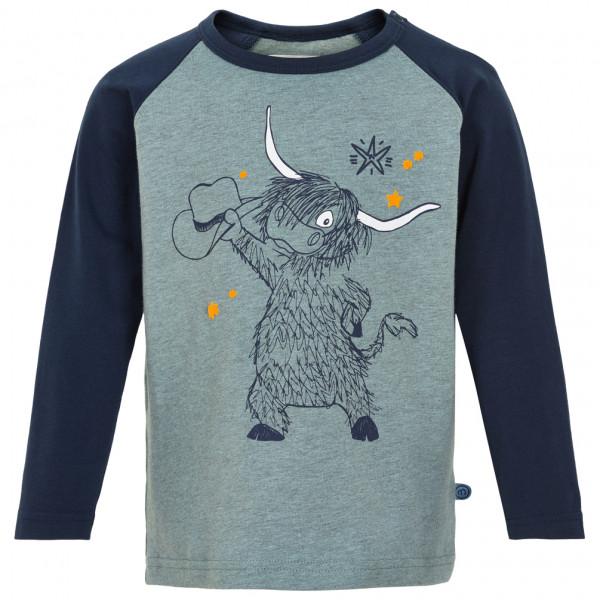 Minymo - Kid's T-Shirt L/S Print Boy - Camiseta de manga larga