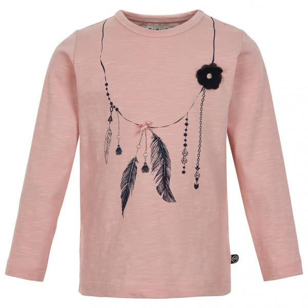 Minymo - Kid's T-Shirt L/S Print Girl - Camiseta de manga larga
