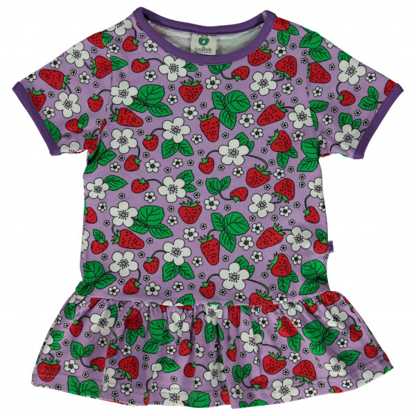 Smafolk - Kid's with Skirt and Strawberries - T-Shirt