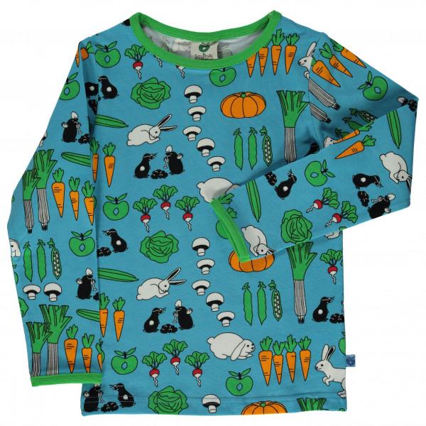 Smafolk - Kid's T-Shirt with Vegetables - Longsleeve