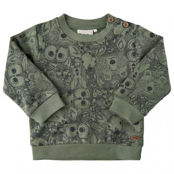 Minymo - Baby's T-Shirt L/S Print - Longsleeve