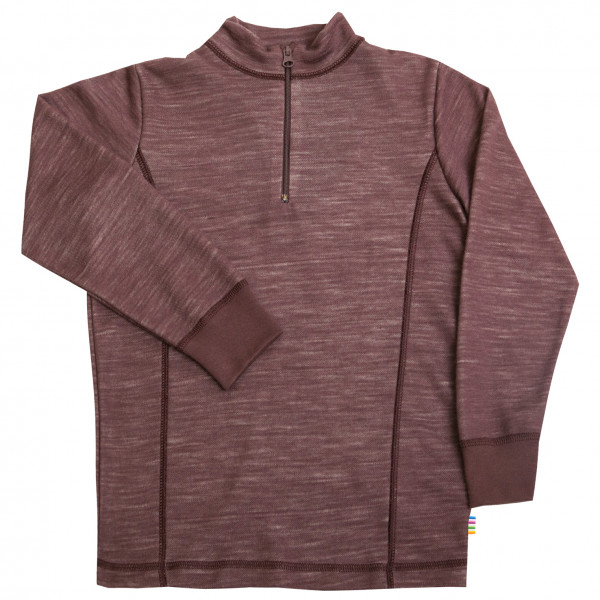 Kid's Blouse Zipper - Merino jumper