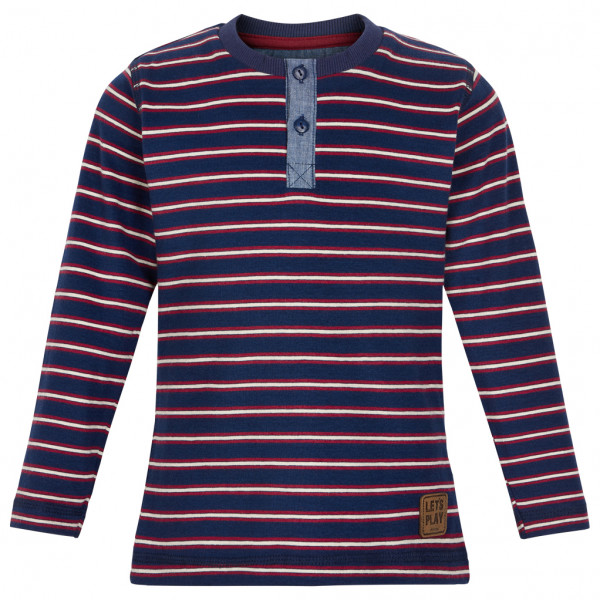 Minymo - Kid's T-Shirt L/S Y/D Stripe - Longsleeve