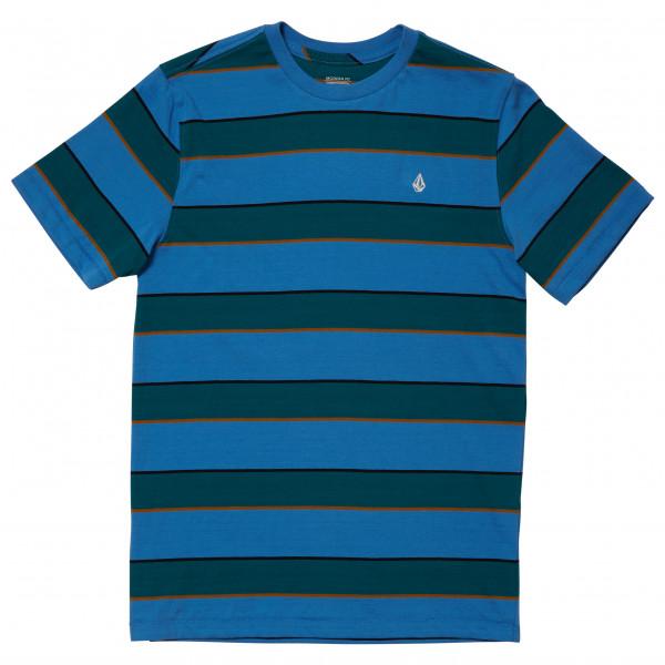 Volcom - Kid's Keates Stripe Crew S/S - T-Shirt