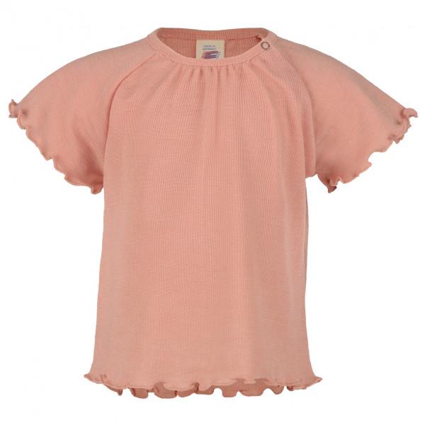 Engel - Baby-Shirt S/S Gerüscht - Merinoshirt