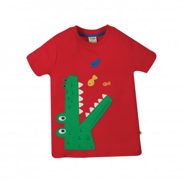 Frugi - Kid's Carsen Applique T-Shirt - Camiseta de manga corta