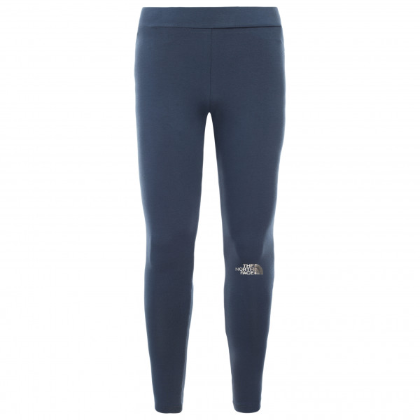 The North Face - Girl's Cotton Blend Big Logo Leggings - Leggings