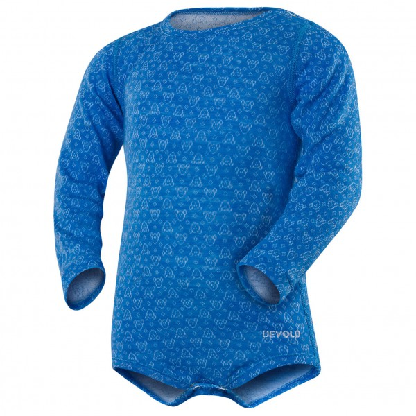 Devold - Active Baby Body - Sous-vêtements en laine mérinos
