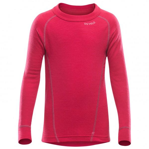 Devold - Duo Active Junior Shirt - Underkläder merinoull