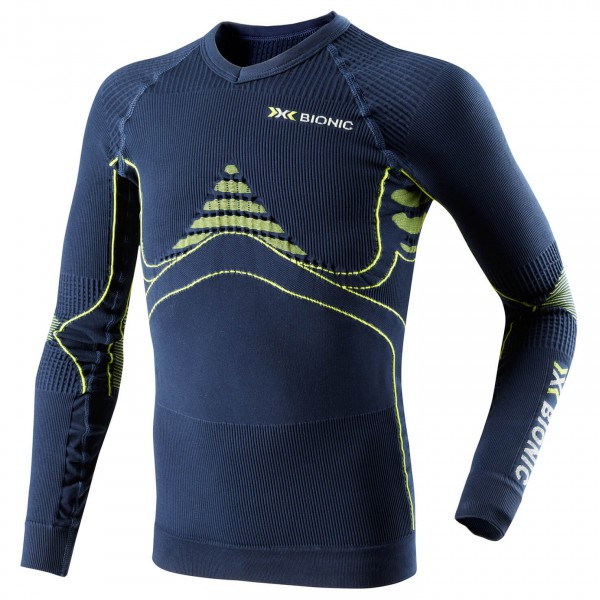 X-Bionic - Kid's Energy Accumulator Shirt - Synthetisch ondergoed