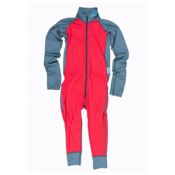 Kask - Kid's Rider Suit 200 - Merinovilla-alusvaatteet