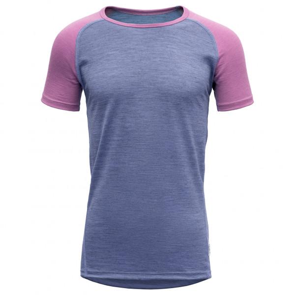 Devold - Breeze Junior T-Shirt - Underkläder merinoull