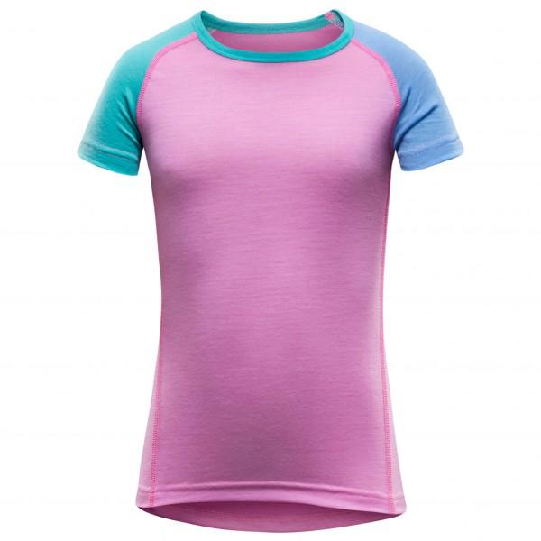 Devold - Breeze Kid T-Shirt - Merino undertøj