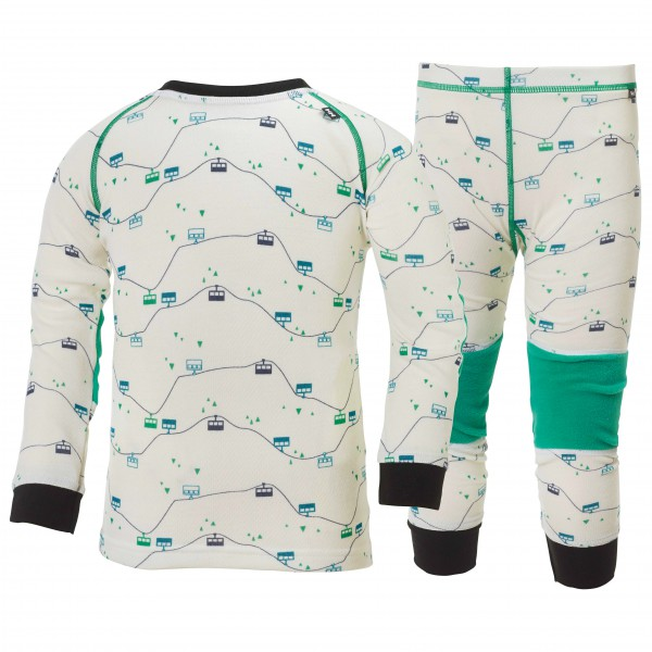 Helly Hansen - Kid's HH Warm Set 2 - Merinovilla-alusvaattee