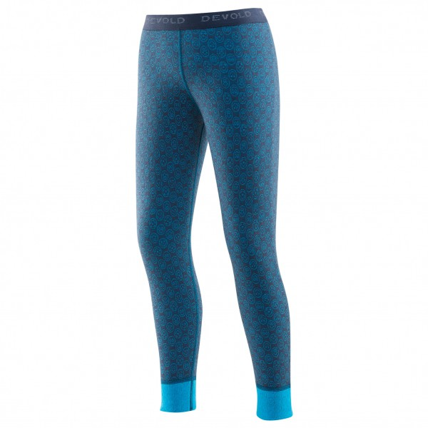 Devold - Active Happy Face Kid Long Johns - Merino base layer
