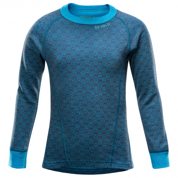 Devold - Active Happy Face Kid Shirt - Merino ondergoed