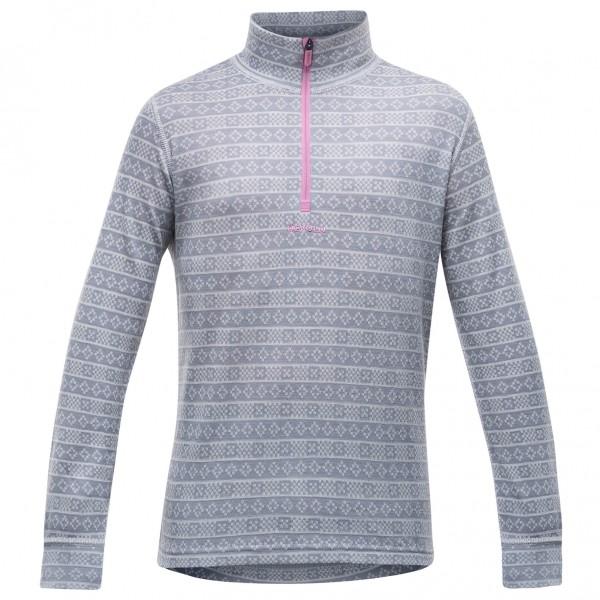 Devold - Alnes Junior Half Zip Neck - Merino undertøj