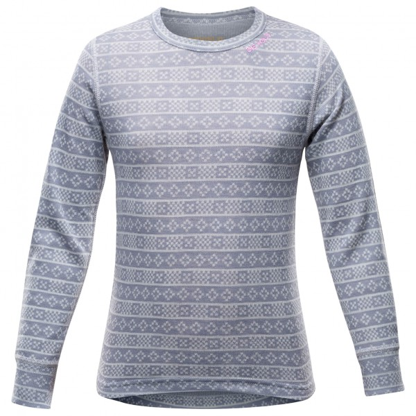 Devold - Alnes Junior Shirt - Merino base layer
