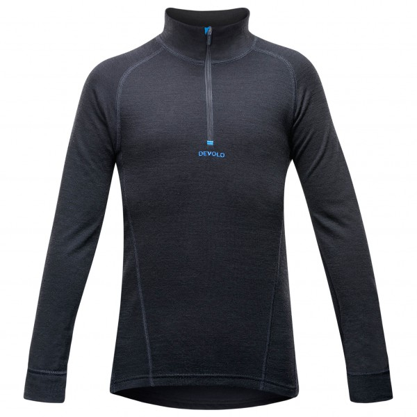 Devold - Duo Active Junior Zip Neck - Merinoundertøy