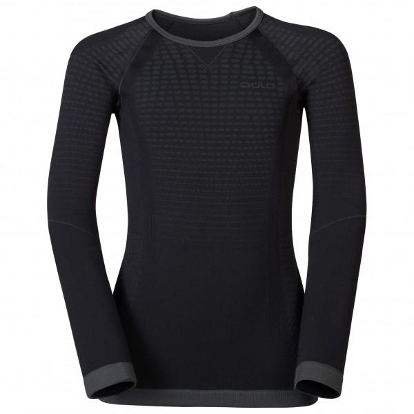 Odlo - Kid's Shirt L/S Crew Neck Evolution Warm - Underkläder syntet