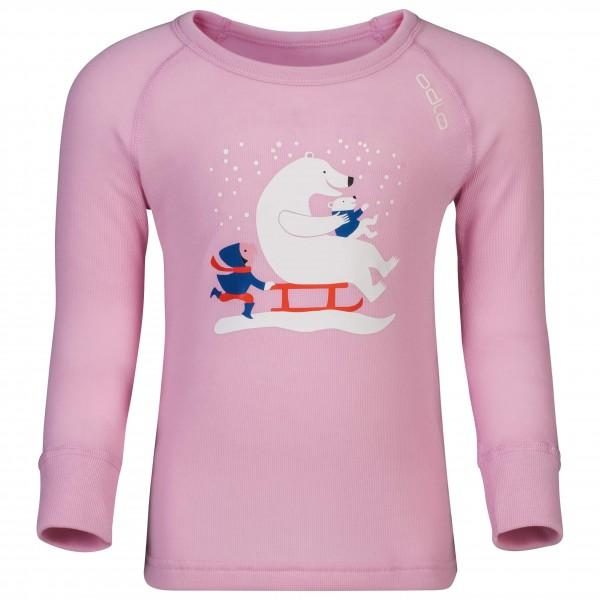 Odlo - Shirt L/S Crew Neck Warm Trend Kids