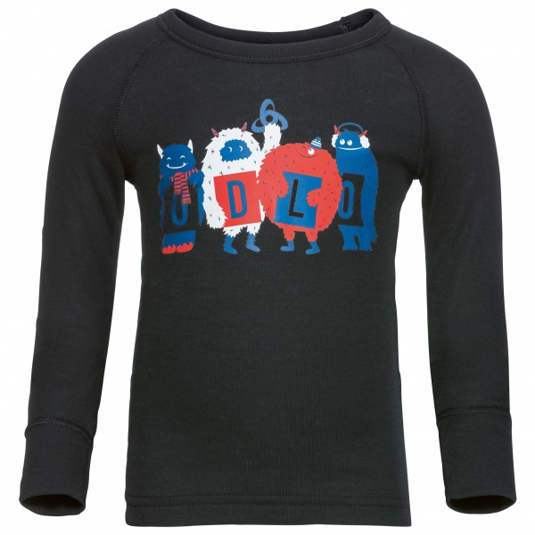 Odlo - Shirt L/S Crew Neck Warm Trend Kids