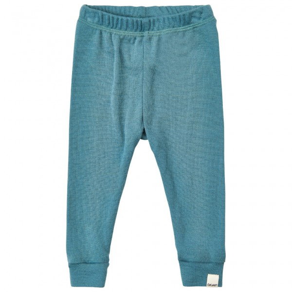 CeLaVi - Kid's Long John Solid Wool - Merino undertøj