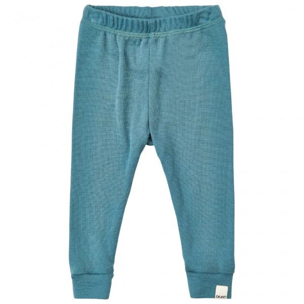 CeLaVi - Kid's Long John Solid Wool - Underkläder merinoull