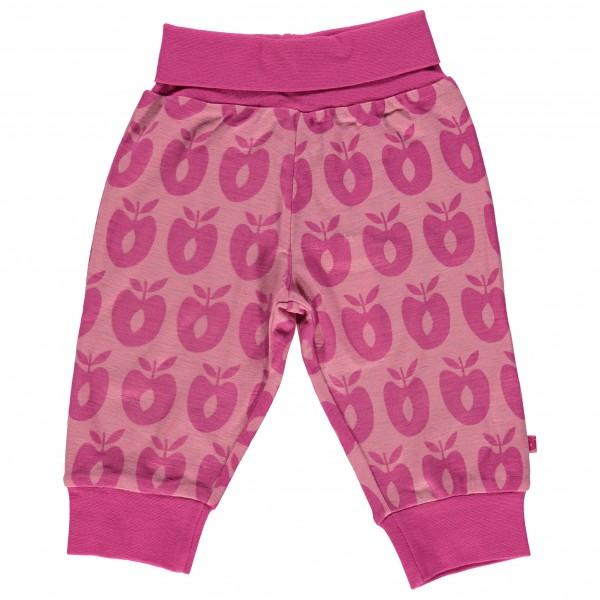 Smafolk - Baby Pants Merino Wool Apples - Merinovilla-alusva