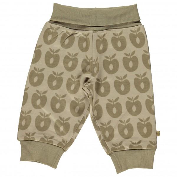 Smafolk - Baby Pants Wool Apples - Merinovilla-alusvaatteet