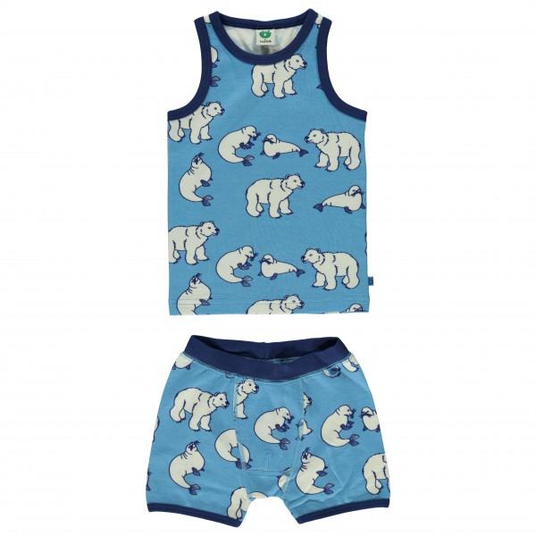 Smafolk - Boy Underwear Wool Polarbear - Merino ondergoed