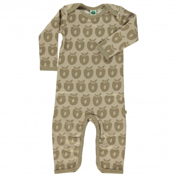 Smafolk - Kid's Body Suit L/S Wool - Merino base layers