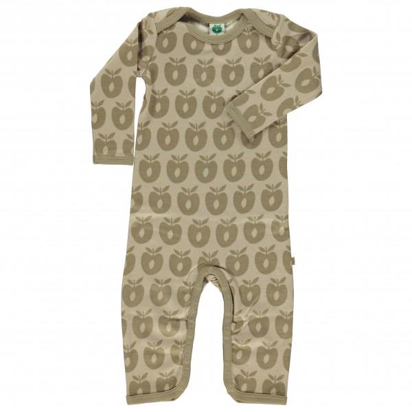 Smafolk - Kid's Body Suit L/S Wool - Merinovilla-alusvaattee