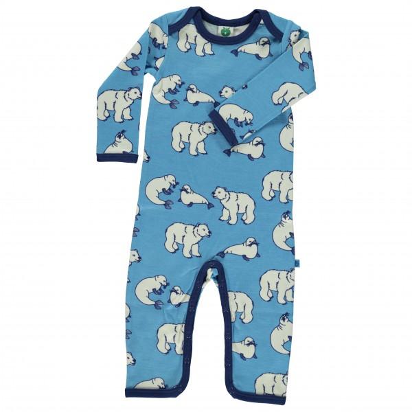 Smafolk - Kid's Body Suit L/S Wool - Merino ondergoed