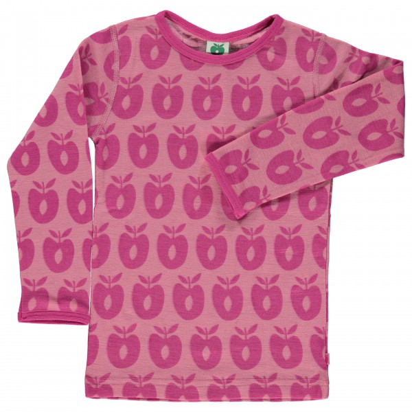 Smafolk - Kid's T-Shirt Merino Wool - Long-sleeve