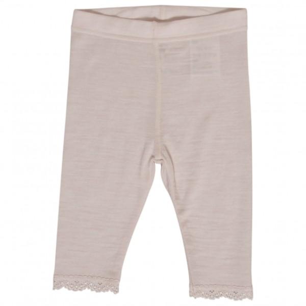 Hust&Claire - Leggings Wool Silk Rose - Merino underwear