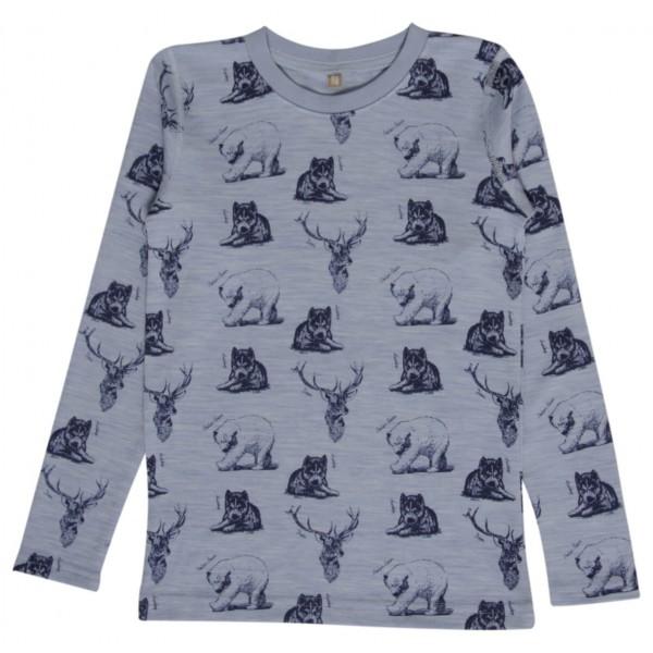 Hust&Claire - Nightwear Animal Print - Merinovilla-alusvaatt
