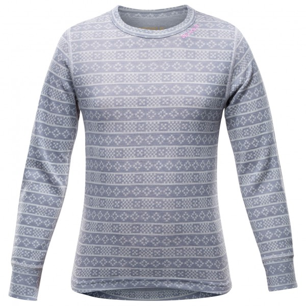 Devold - Alnes Kid Shirt - Ropa interior merino